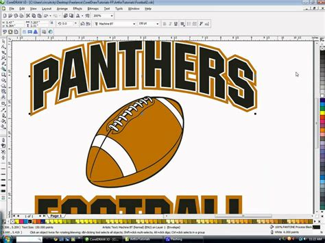 design font in coreldraw creating double outlines in coreldraw with freelance