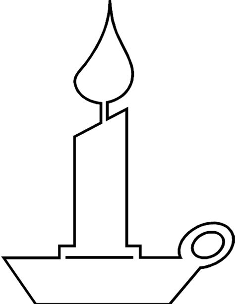 coloring page birthday candle coloring pages for free