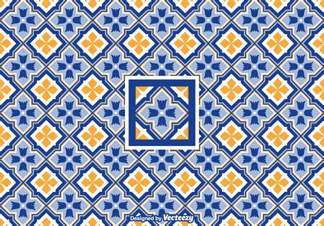 azulejo pattern free vector geometric azulejo pattern download free