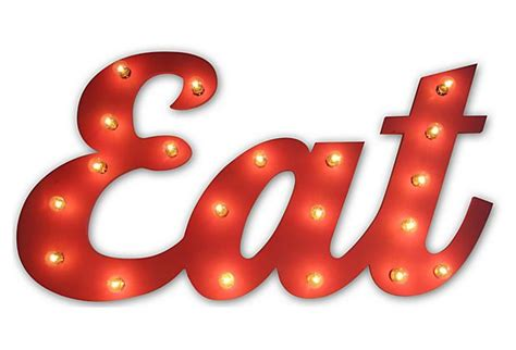eat light up sign marquee light up quot eat quot sign signs scroll saw and string