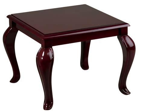mahogany accent table queen anne mahogany finish wood accent side end table tables