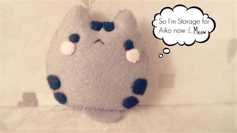 pusheen plush diy how to make a baby pusheen cat plushie pocket tutorial