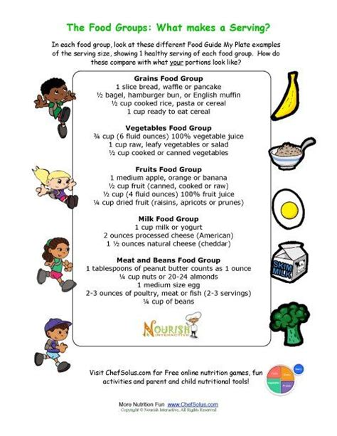 printable nutrition images kids enjoy learning about eating healthy foods with our