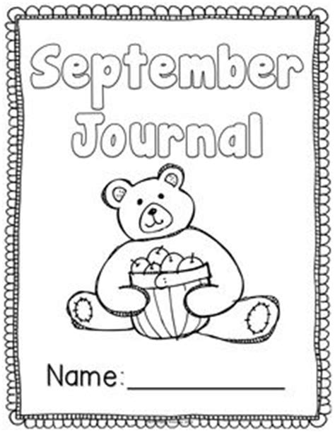 printable writing journal covers 5 best images of printable kindergarten journal covers