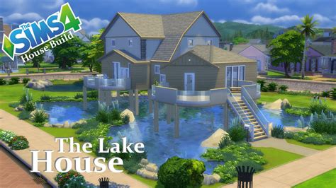 The Sims 4   House Build   The Lake House   YouTube