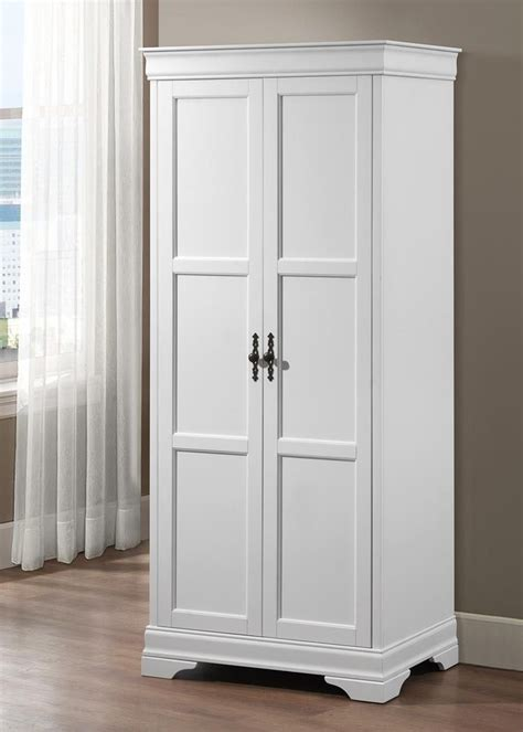 White Wardrobe Louis Philippe Wardrobe In White Blue Interiors