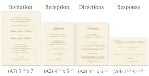 Wedding Invitation Card Size In Cm by Standard Wedding Invitation Size Reglementdifferend
