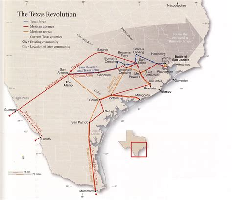 texas revolution map weekly reading and examination schedule