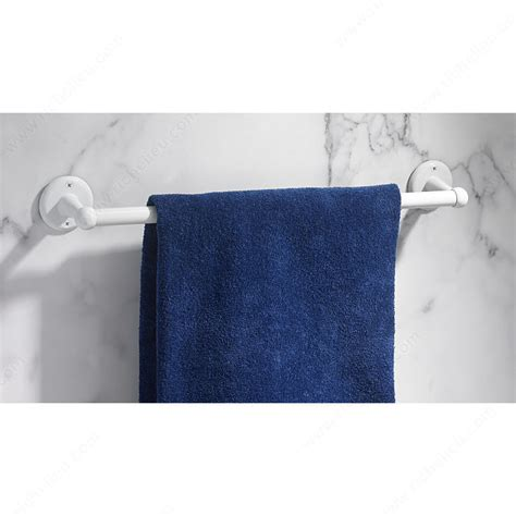 decorative bathroom towel bars towel bar euro collection richelieu hardware