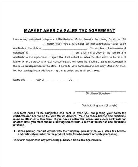 tax agreement template tax agreement template 28 images 32 sales agreement