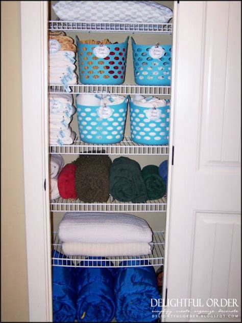 bathroom linen storage ideas awesome diy bathroom organization ideas diy projects