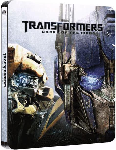 Transformers The Uk Exclusive Steelbook transformers of the moon zavvi exclusive limited