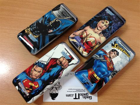 Probox Power Bank 5200mah Dc Justice League Limited Edition powerbank sanyo probox justice league 5200mah dc comic edition