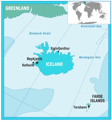world map with iceland iceland on the map my