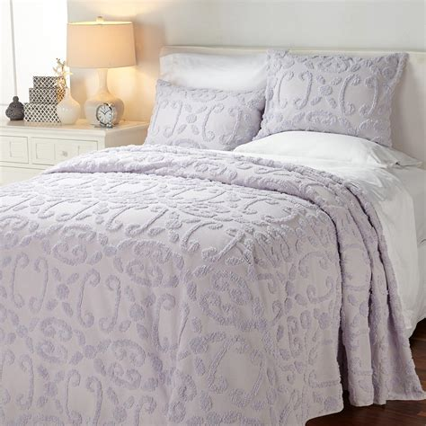 chenille comforter chenille bedding sets the eliza chenille bedding sets