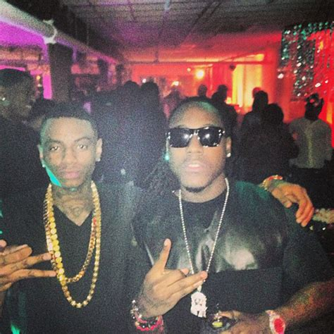 soulja boy and cash money rapper ace hood in miami