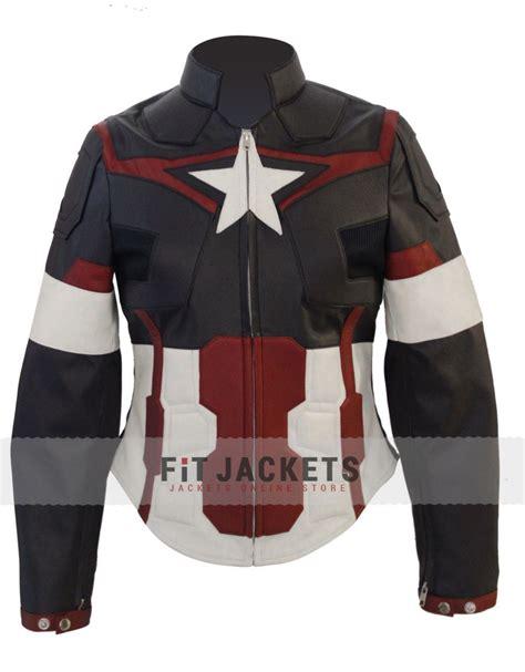 Capt America Jacket captain america jacket for age of ultron jacket