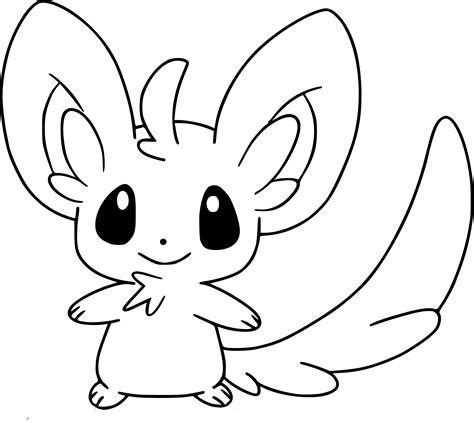 Coloriage Chinchidou Pokemon 224 Imprimer