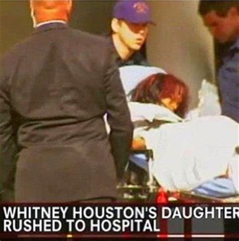 whitney houston daughter found in bathtub whitney houston s daughter bobbi kristina brown reportedly