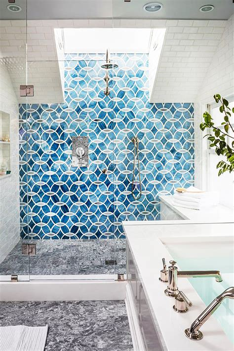 blue tiled bathroom pictures shower tile designs for each and every taste