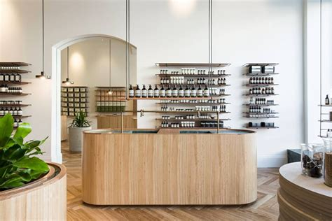 Reception Desk Adelaide Genesin Studio S New Aesop Rundle Store Adelaide Urdesignmag