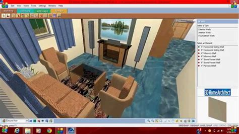 3d home design suite professional 5 3d home architect design suite deluxe 8 first project youtube