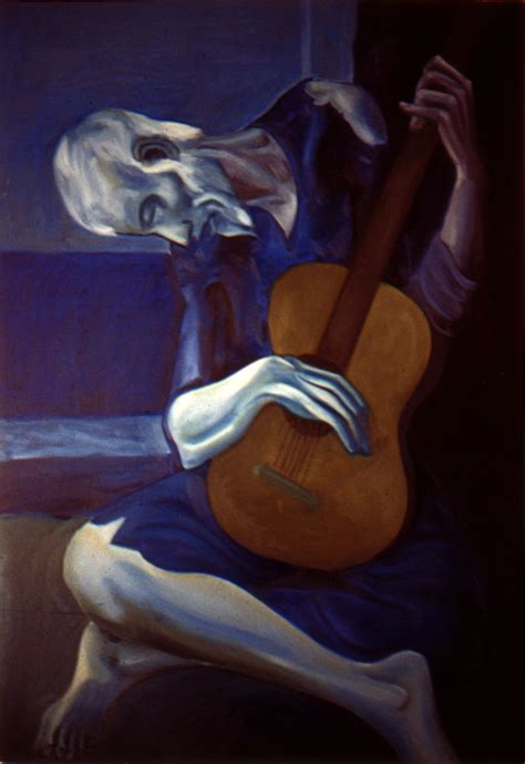 The Blind Guitarist picasso s blind guitarist by y f s on deviantart