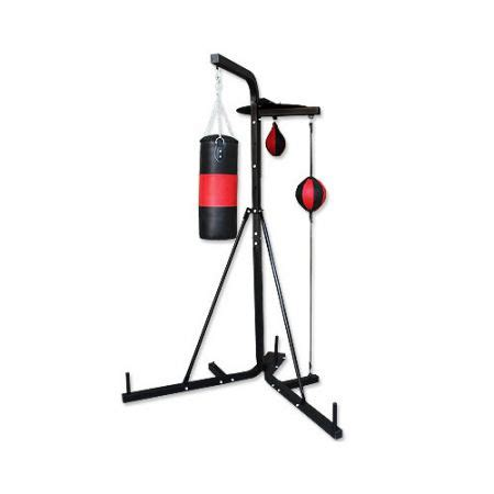Floor To Ceiling Punch Bag by Multi Station Boxing Stand With Punching Bag Speed