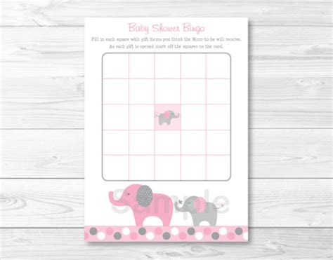 baby shower bingo card templates free blank bingo template 15 free psd word pdf vector eps