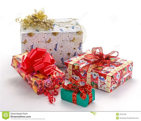 christmas gift pack stock photo image of christmas
