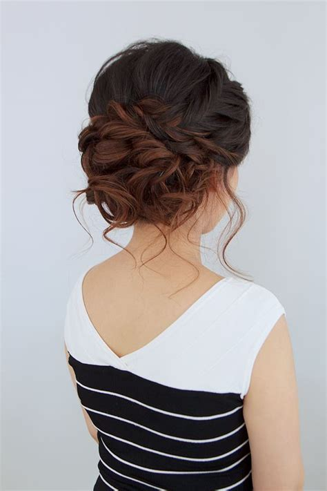 Hair Wedding Updo Styles by 30 Beautiful Wedding Updos For 2018 Updos For