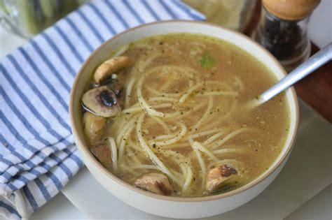 remodelaholic mushroom noodle soup