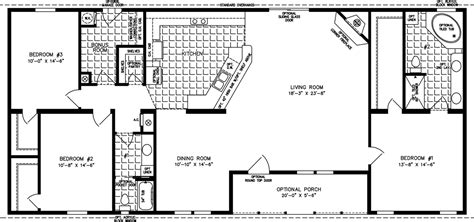 floor plans 2000 square feet 2000 sq ft floor plans the tnr 46816w manufactured