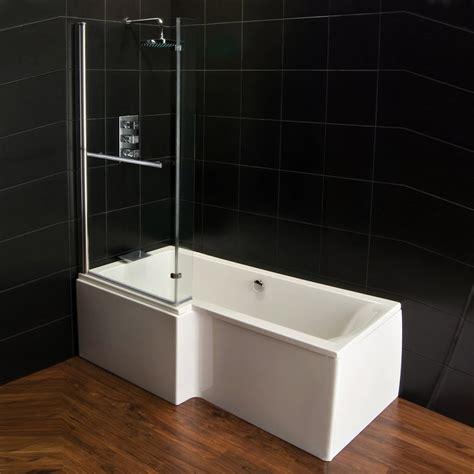 qualitex plexicor elegancia shower bath front panel and