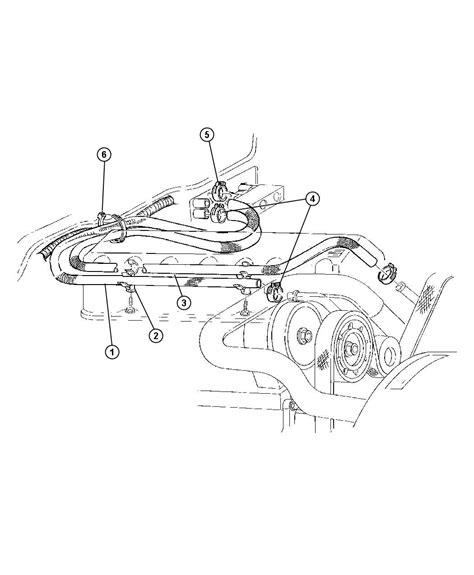 Rhd Plumbing by Jeep Plumbing Heater 2 5 4 0l Gas Engines Rhd