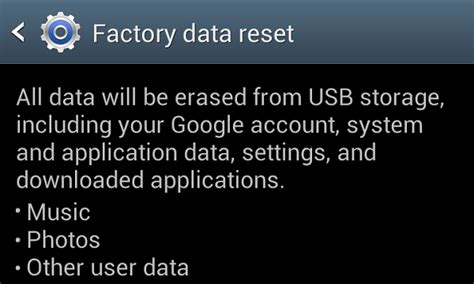 Reset Android Keep Data | how to factory reset your android phone