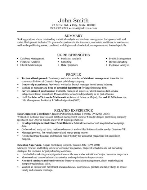 Data Operations Coordinator Resume Sample & Template