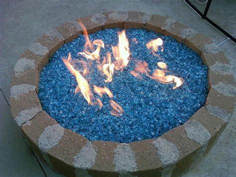glass stone fire pit fireplace design ideas