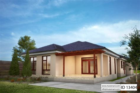 Three Bedroom House Id 13204 3 Bedroom House Plan Id 13404 House Designs By Maramani