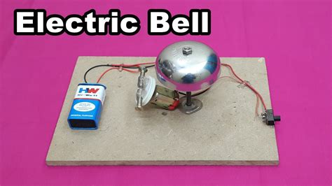 make a model of electric circuit how to make a simple electric bell at home easy