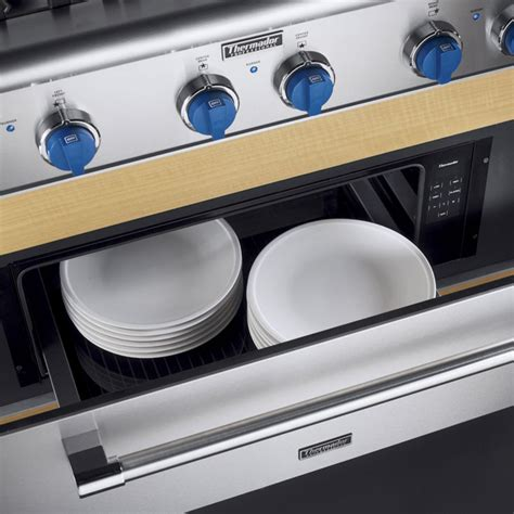 thermador warming drawer temperature thermador wdc36d 36 inch convection warming drawer with