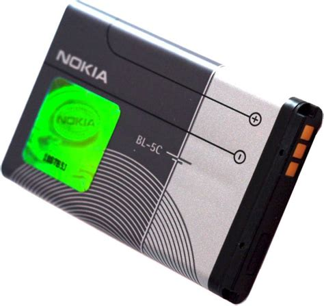 Battery Nokia Bl 5c Original nokia battery bl 5c nokia flipkart
