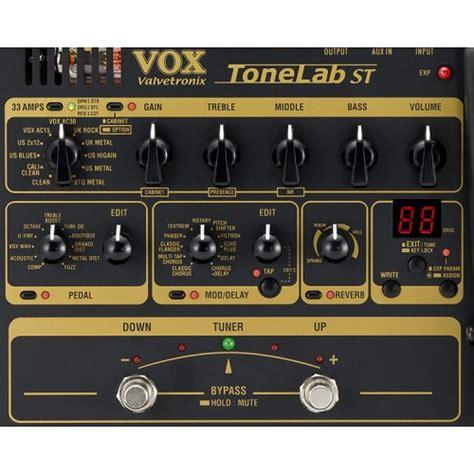 Daftar Harga Effect Gitar Me 25 jual vox tonelab st guitar multi effects processor murah
