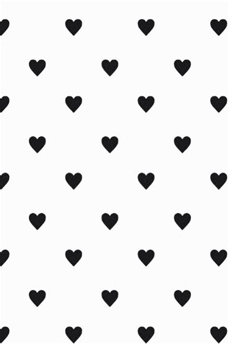 heart pattern wallpaper black and white whi get lost in what you love