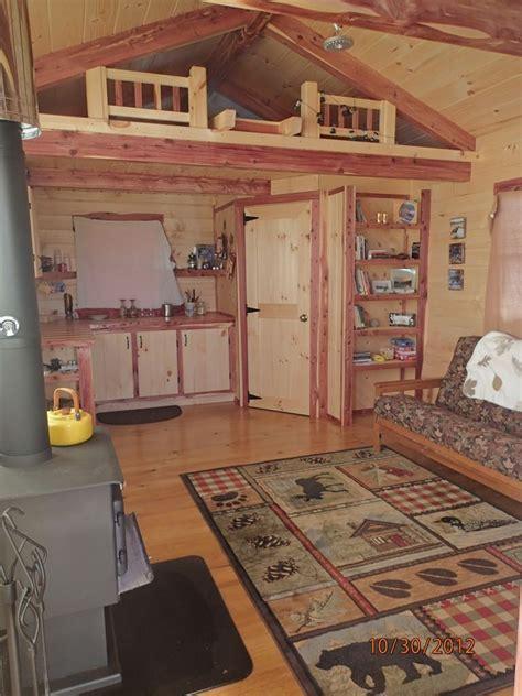 cactus blossom  tiny  grid cabin lofted barn cabin