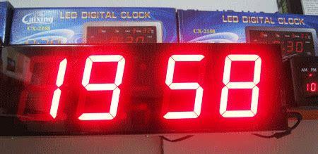 komponen untuk membuat jam digital led rangkaian jam digital led dengan bel 187 skemaku com