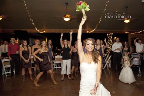 Wedding Bouquet Toss by Wedding Reception Bouquet Toss