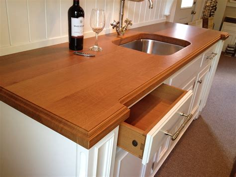 White Wood Countertops by White Oak Wood Countertop Butcher Block Countertop Bar Top