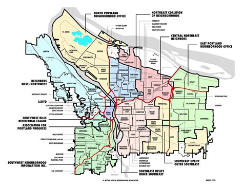 map of oregon districts quotes about portland oregon quotesgram