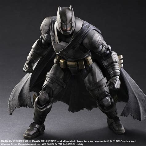 Play Batman Bvs the suits up for his battle with this